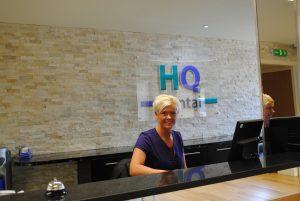 HQ Dental reception